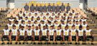 D'Iberville Warriors Boys Varsity Football Fall 16-17 team photo.