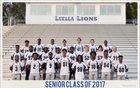Luella Lions Boys Varsity Football Fall 16-17 team photo.