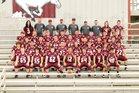 Perryville Mustangs Boys Varsity Football Fall 16-17 team photo.