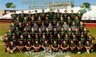 Skyline Coyotes Boys Varsity Football Fall 16-17 team photo.
