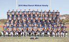 West Ranch Wildcats Boys Varsity Football Fall 16-17 team photo.