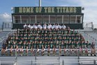 Blessed Trinity Titans Boys Varsity Football Fall 16-17 team photo.