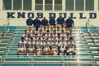 Bald Knob Bulldogs Boys Varsity Football Fall 16-17 team photo.