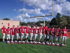 Carrizozo Grizzlies Boys Varsity Football Fall 16-17 team photo.