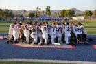 Classical Academy Caimans Boys Varsity Football Fall 16-17 team photo.