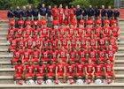 Manatee Hurricanes Boys Varsity Football Fall 16-17 team photo.