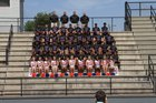 Montevallo Bulldogs Boys Varsity Football Fall 16-17 team photo.
