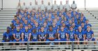 East Lake Eagles Boys Varsity Football Fall 16-17 team photo.