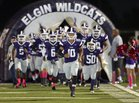 Elgin Wildcats Boys Varsity Football Fall 16-17 team photo.