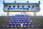 Lincoln County Falcons Boys Varsity Football Fall 16-17 team photo.