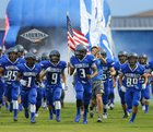Needville Bluejays Boys Varsity Football Fall 16-17 team photo.