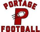 Portage Indians Boys Varsity Football Fall 16-17 team photo.