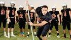 Merced Bears Boys Varsity Football Fall 16-17 team photo.