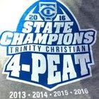 Trinity Christian Academy Conquerors Boys Varsity Football Fall 16-17 team photo.