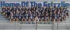 Los Osos Grizzlies Boys Varsity Football Fall 16-17 team photo.