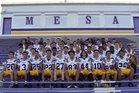 Mesa Jackrabbits Boys Varsity Football Fall 16-17 team photo.