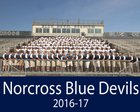 Norcross Blue Devils Boys Varsity Football Fall 16-17 team photo.