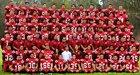 La Serna Lancers Boys Varsity Football Fall 16-17 team photo.