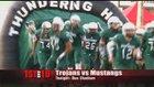 King Mustangs Boys Varsity Football Fall 16-17 team photo.