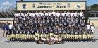 Thomas County Central Yellowjackets Boys Varsity Football Fall 16-17 team photo.
