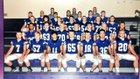 Ticonderoga Sentinels Boys Varsity Football Fall 16-17 team photo.