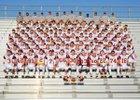 Windsor Wizards Boys Varsity Football Fall 16-17 team photo.