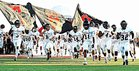 Tascosa Rebels Boys Varsity Football Fall 16-17 team photo.
