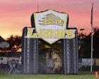 Big Valley Christian Lions Boys Varsity Football Fall 16-17 team photo.