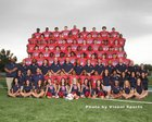 Roosevelt Rough Riders Boys Varsity Football Fall 16-17 team photo.