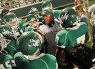 Breckenridge Buckaroos Boys Varsity Football Fall 16-17 team photo.