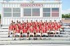 Beekmantown Eagles Boys Varsity Football Fall 16-17 team photo.