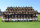Goldwater Bulldogs Boys Varsity Football Fall 16-17 team photo.