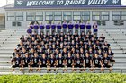 North Forsyth Raiders Boys Varsity Football Fall 16-17 team photo.