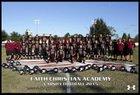 Faith Christian Lions Boys Varsity Football Fall 16-17 team photo.