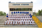 Goodpasture Christian Cougars Boys Varsity Football Fall 16-17 team photo.