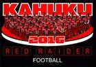 Kahuku Red Raiders Boys Varsity Football Fall 16-17 team photo.