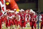 Bridge City Cardinals Boys Varsity Football Fall 16-17 team photo.
