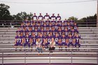 Ozark Hillbillies Boys Varsity Football Fall 16-17 team photo.