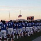 Kimball Jaguars Boys Varsity Football Fall 16-17 team photo.