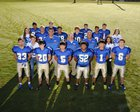 Decatur Bulldogs Boys Varsity Football Fall 16-17 team photo.