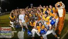Martin County Tigers Boys Varsity Football Fall 16-17 team photo.