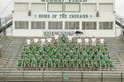 Murray County Indians Boys Varsity Football Fall 16-17 team photo.