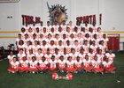 Stafford Spartans Boys Varsity Football Fall 16-17 team photo.