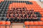 Chester Yellowjackets Boys Varsity Football Fall 16-17 team photo.