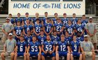 Jessieville Lions Boys Varsity Football Fall 16-17 team photo.