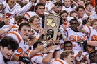 Catholic-B.R. Bears Boys Varsity Football Fall 16-17 team photo.
