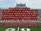 Warner Robins Demons Boys Varsity Football Fall 16-17 team photo.