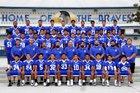 Baldwin Park Braves Boys Varsity Football Fall 16-17 team photo.