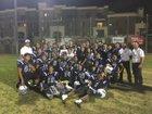 East Valley Falcons Boys Varsity Football Fall 16-17 team photo.