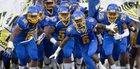 Dudley Panthers Boys Varsity Football Fall 16-17 team photo.
